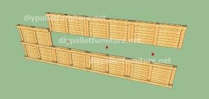 Plans et vidéo de la façon de faire une maison avec des palettes ( 3 de 3 ) 2