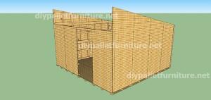 Plans et vidéo de la façon de faire une maison avec des palettes ( 3 de 3 ) 4