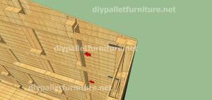 Plans et vidéo de la façon de faire une maison avec des palettes ( 3 de 3 ) 6