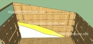 Plans et vidéo de la façon de faire une maison avec des palettes ( 3 de 3 ) 8