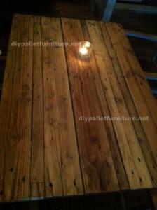 Tables de palettes à le Café de belgrado (2)