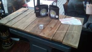 Tables de palettes à le Café de belgrado (4)