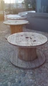 Tables de palettes à le Café de belgrado (7)