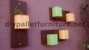 Canapé et table pour la terrasse faite avec des palettes 4