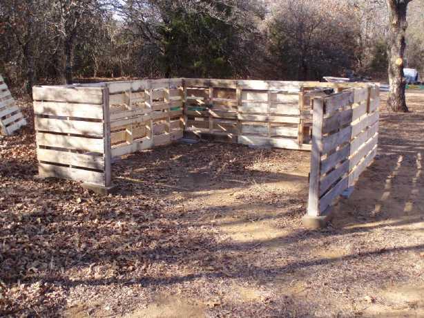 ... Bois Des Wood Pallet Project Shed ...