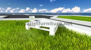 Cool table avec seulement 2 palettes 8