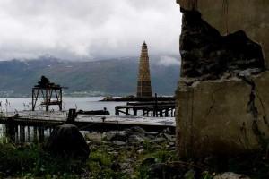 Dans une ville norvégienne une énorme tour avec des palettes a été créé à brûler5