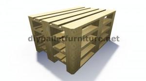 Des instructions étape par étape et des plans sur la façon de faire un canapé avec des palettes facilement 2