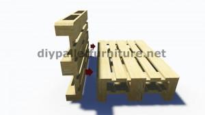 Des instructions étape par étape et des plans sur la façon de faire un canapé avec des palettes facilement 4