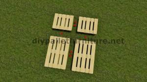 Instructions étape par étape sur la façon de faire un lit suspendu avec palettes 2