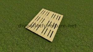 Instructions étape par étape sur la façon de faire un lit suspendu avec palettes 3