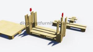 Instructions étape par étape sur la façon de faire un tableau avec 3 palettes 6