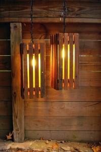Instructions Sur La Facon De Faire Une Lampe Avec Des Palettes En