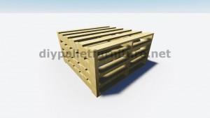 Instructions sur la façon de faire une lampe avec des palettes en bois 2
