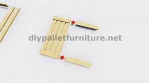 Instructions sur la façon de faire une lampe avec des palettes en bois 4