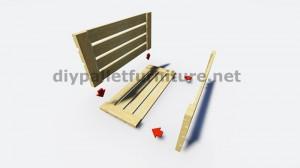 Instructions sur la façon de faire une lampe avec des palettes en bois 5