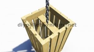 Instructions sur la façon de faire une lampe avec des palettes en bois 8