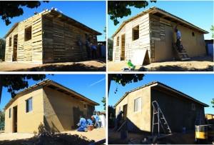 Maisons auto-construits populaires avec des palettes en bois