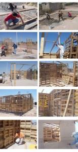 Maisons auto-construits populaires avec des palettes en bois 5
