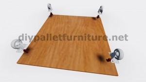 Plans et instructions sur la façon de construire une table avec des boîtes de fruits 2