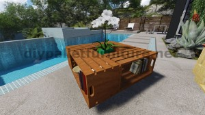Plans et instructions sur la façon de construire une table avec des boîtes de fruits 6