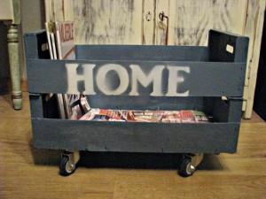 Réalisez des stampes sur vos meubles de palette avec la peinture en aérosol 8
