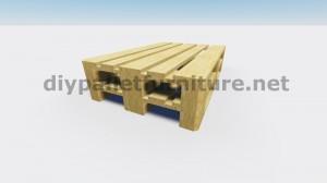 Table flottant avec des palettes 3
