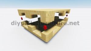 Table flottant avec des palettes 7