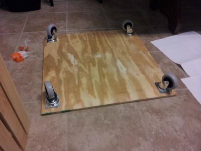 Comment ajouter des roues à une table de palette 3