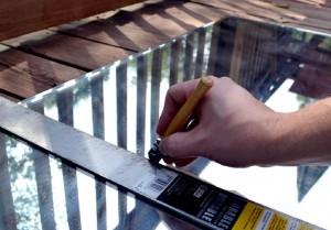 Comment construire un miroir avec des palettes 5