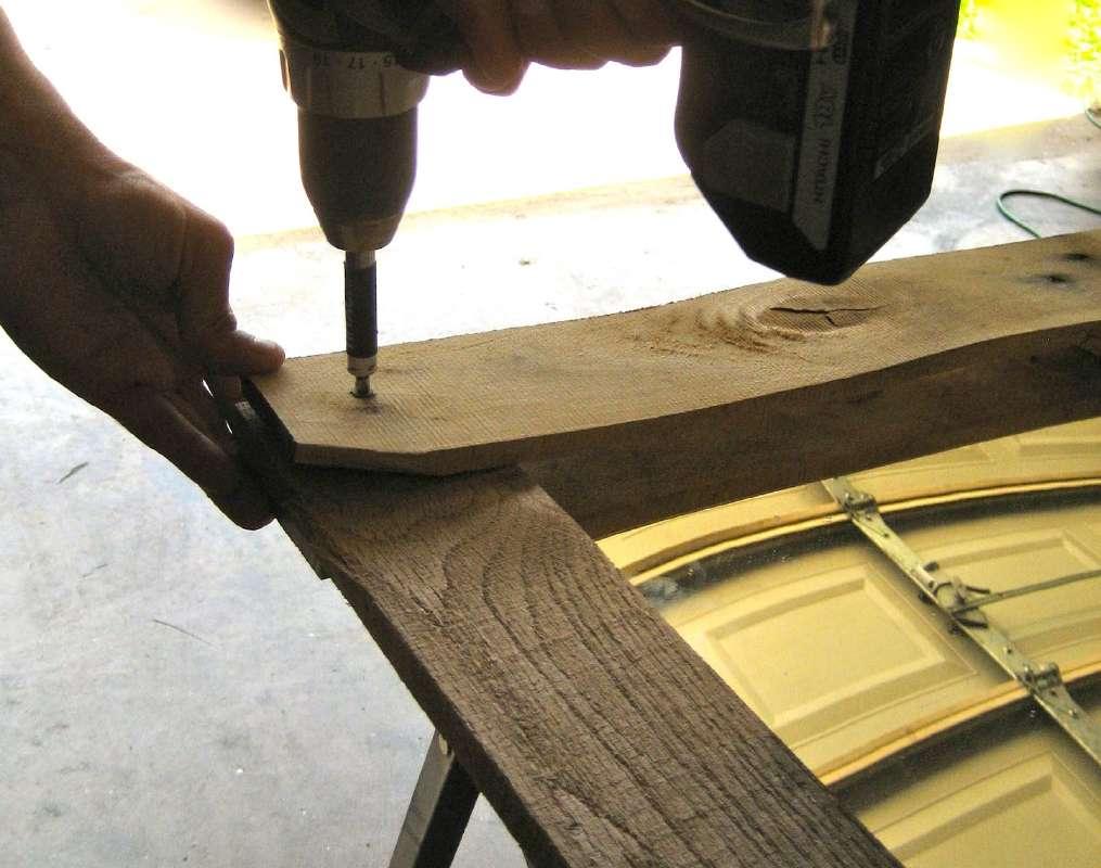 Comment Construire Un Miroir Avec Des Palettesmeuble En Palette  # Construire Un Meuble En Palette