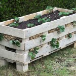 Comment faire une jardinière avec une seule palette
