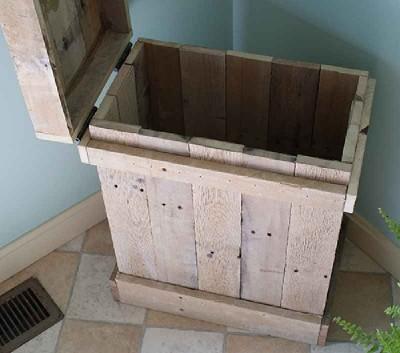 Comment faire une table de chevet et une boîte décorative2