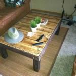 Faire une table avec seulement planches de palettes