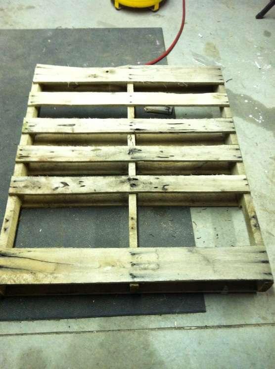 Faire une table avec seulement planches de palettesmeuble - Faire table avec palette ...