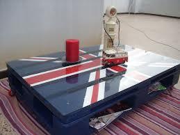 Idées originales pour faire une table avec une seule palette 4