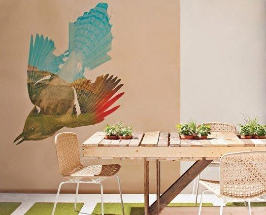 Instructions Sur La Fa On De Faire Une Table Avec Des Palettes Pour La Salle Mangermeuble En