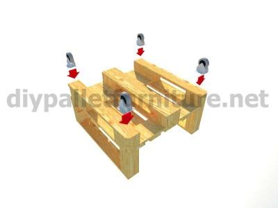 Jardin meuble en kit Fauteuil extérieur avec des palettes  11