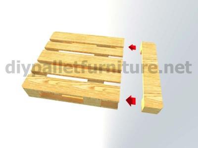 Jardin meuble en kit Fauteuil extérieur avec des palettes 5