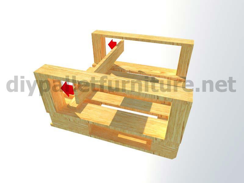 Meubles en kit pour le jardin fauteuil ext rieur avec des for Siege jardin palette