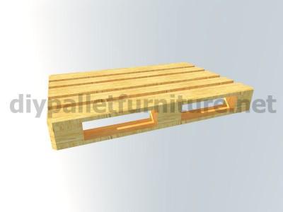 Jardin meubles en kit une table avec un seul Europalet