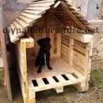 Le paletten haus une maison abordable fait compl tement - Fabriquer une niche pour chien pas cher ...