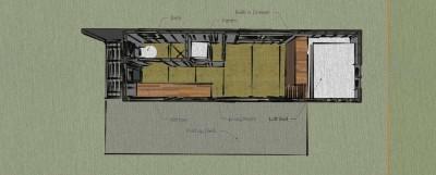 Maison construite avec des planches de palettes en bois pour moins de € 10,000 ( $ 12,000 ) 6
