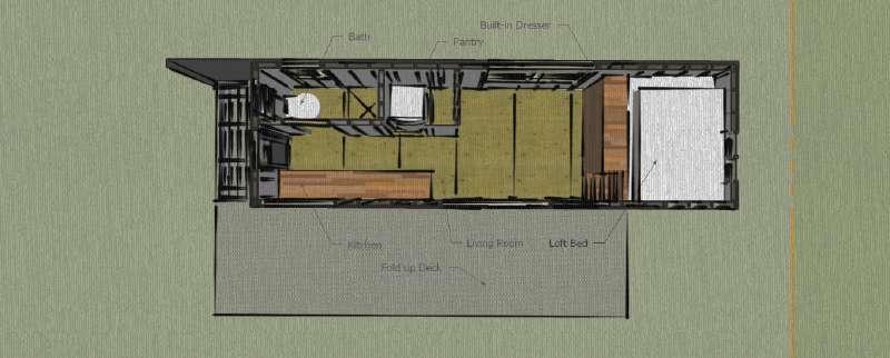 Maison construite avec des planches de palettes en bois pour moins de 10 000 12 000 - Maison palette ...