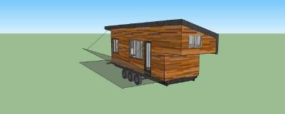Maison construite avec des planches de palettes en bois pour moins de € 10,000 ( $ 12,000 ) 9