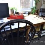 Les plans et les instructions sur la façon de faire un bureau avec des palettes