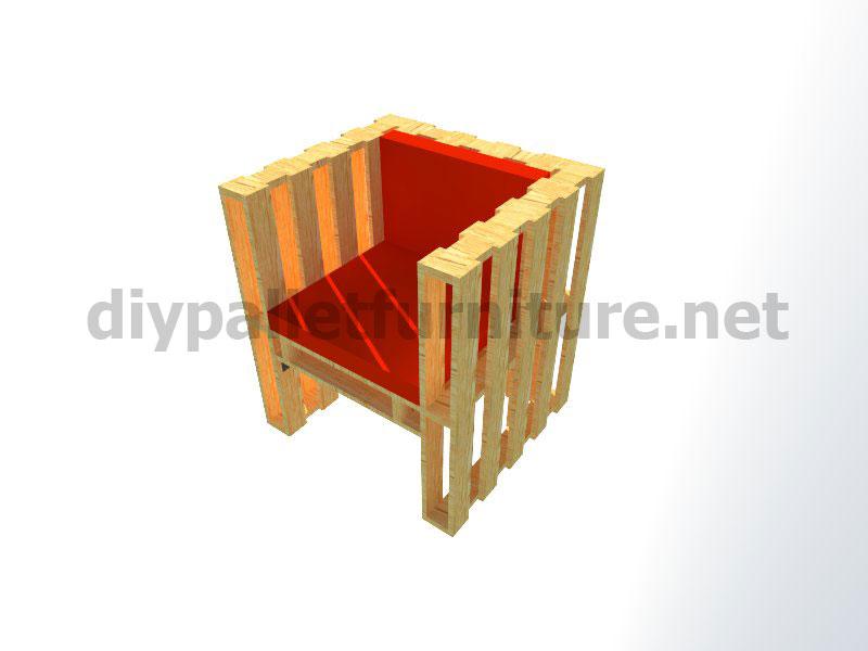 Plans et instructions pour fabriquer une chaise avec - Fabriquer un porte revue ...