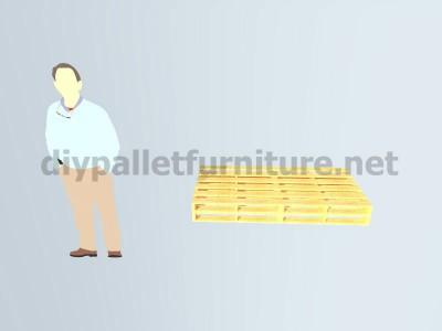 Plans et instructions pour fabriquer une chaise avec quatre palettes 2