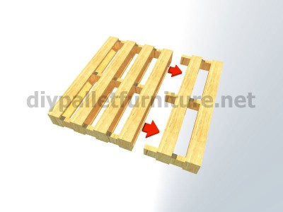 Plans et instructions pour fabriquer une chaise avec quatre palettes 4