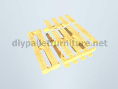 Plans et instructions pour fabriquer une chaise avec quatre palettes 7